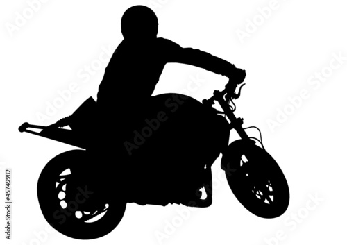 Foto op Canvas Motorfiets Motobike vehicle