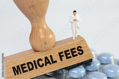Obraz na plátně  medical fees