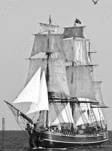Keuken foto achterwand Schip Sailing Ship