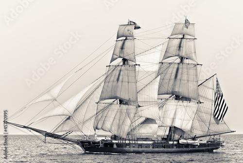 Keuken foto achterwand Schip American Ship