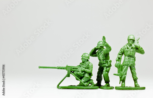 Fotografia The toy soldier troop