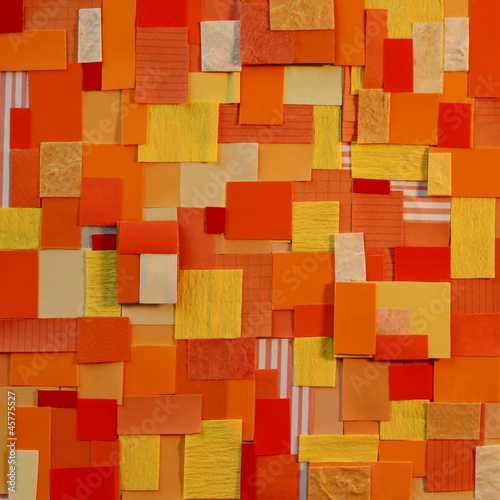 Fototapety, obrazy: orange pattern colorful background
