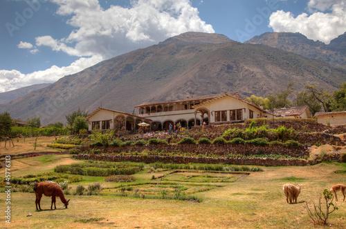Fotografía  Typical hacienda