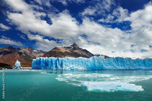 Staande foto Gletsjers Perito Moreno Glacier, Argentino Lake, Patagonia, Argentina