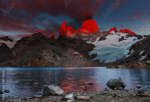 Photo Mount Fitz Roy, Patagonia, Argentina