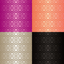 Seamless Wallpapers - Set Of F...