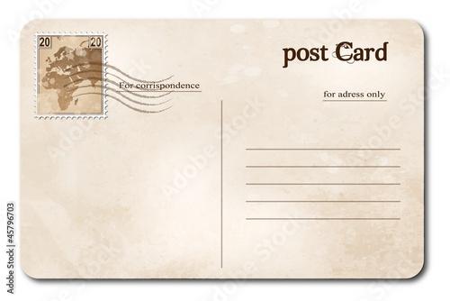 Fotografia  Post card