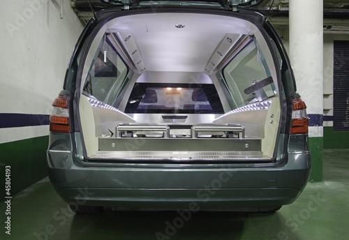 Photo  Funeral car