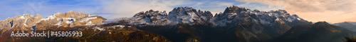 Panoramica Dolomiti di Brenta © Stegrim Tapéta, Fotótapéta