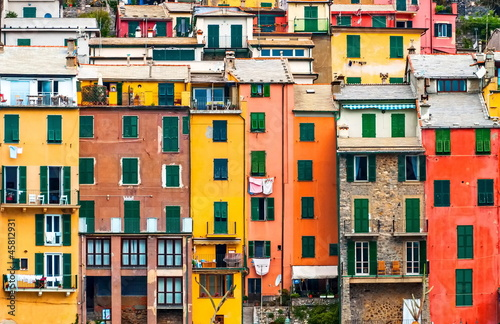 Cinque terre house style