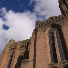 Anglican Cathedral In Liverpool England