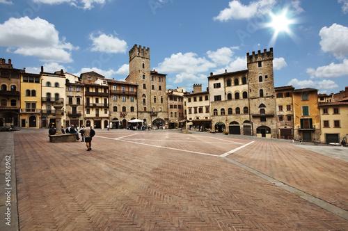 Photo Arezzo piazza grande