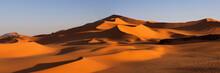 Panorama Of Desert, Africa, Algeria