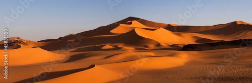 Deurstickers Marokko Panorama of desert, Africa, Algeria