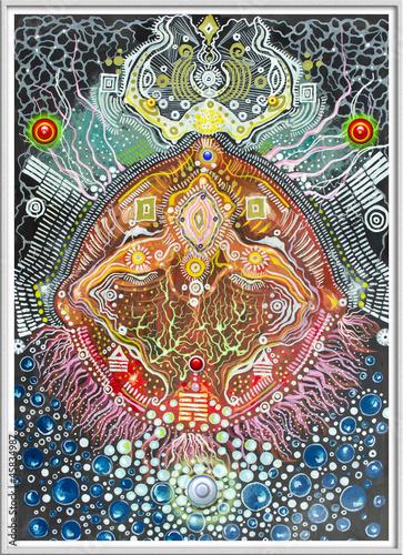 Poster Imagination Ayahuasca