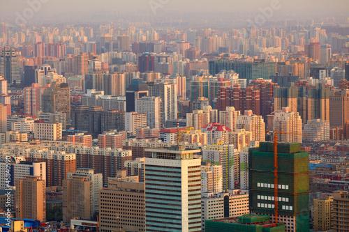 Deurstickers Beijing Beijing cityscape