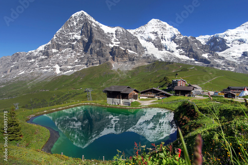 Swiss Alps Landscape - 45893778