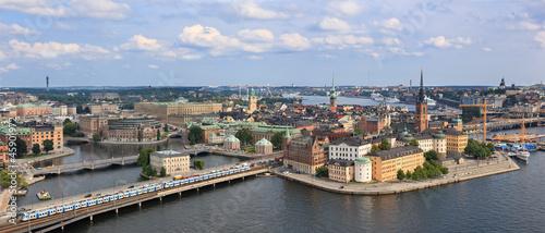 Staande foto Stockholm View of Stockholm, Sweden