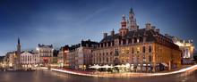 Grand Place De Lille En Début...