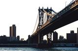Williamsburg bridge, New York city.