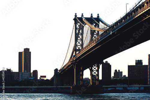 Williamsburg bridge, New York city.