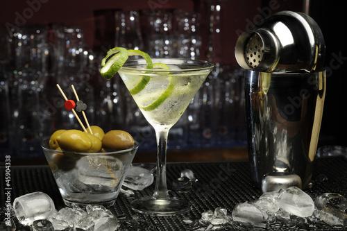 Fotografía  Cóctel de Martini