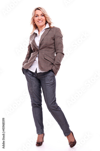 Fotografia  40 years old businesswoman smiling