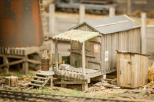 Rundown Miniature Model Shack
