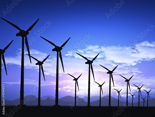 Fotografie, Obraz  wind field
