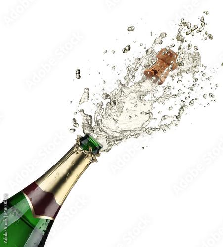 Fotografie, Obraz  Close-up of champagne explosion