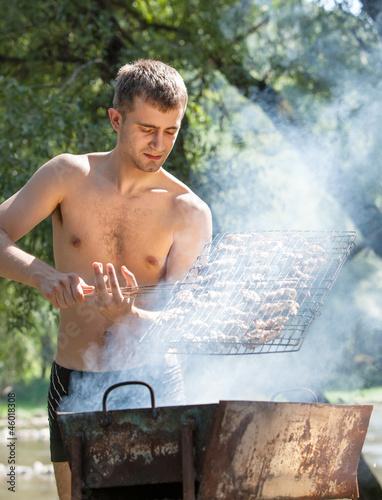 In de dag Vuur Summer Barbeque