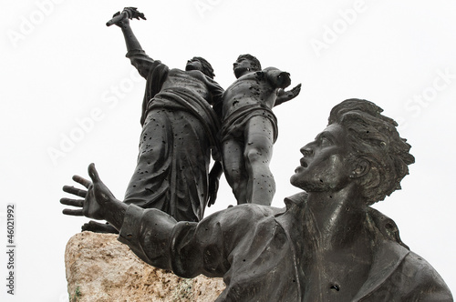 Photographie The Monument of the Martyrs in Beirut, Lebanon