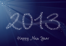 2013 Greeting Card - Happy New...