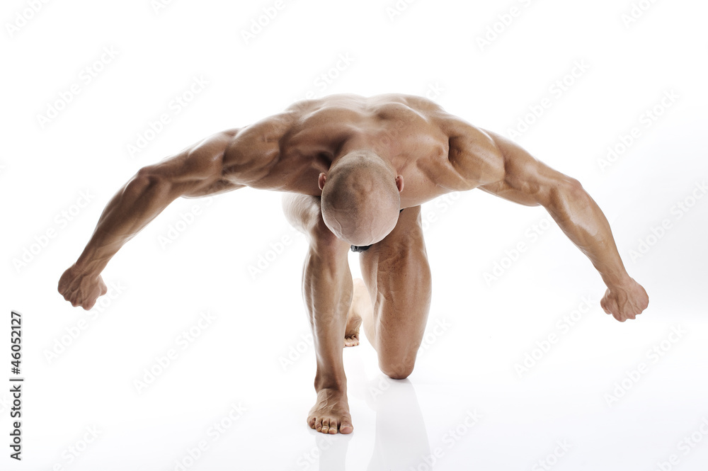 Fototapeta bodybuilding
