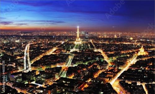 Poster de jardin Paris париж