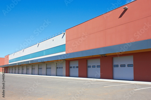 Keuken foto achterwand Industrial geb. cargo doors
