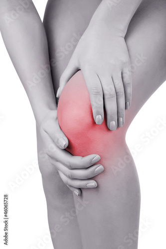 Fotografiet  Acute pain in knee