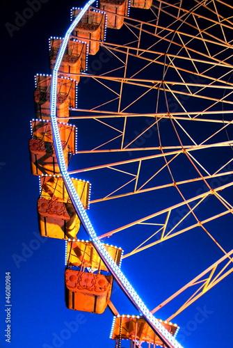 Poster Amusementspark Nacelles de grande roue