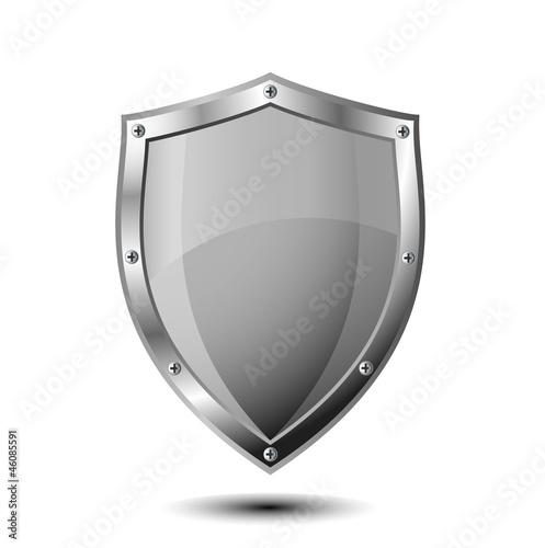 Fotografie, Obraz  ベクター、鉄の盾