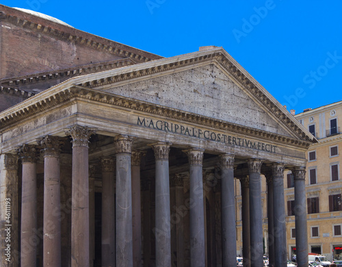 Poster Rome Portico of the Pantheon, Rome