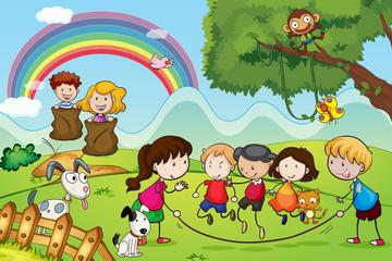 životinja i djece