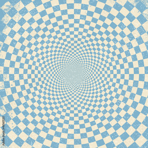 Spoed Foto op Canvas Psychedelic Vector illustration of optical illusion background