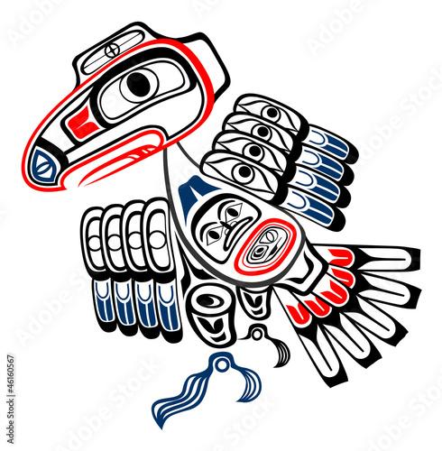 Haida raven Poster