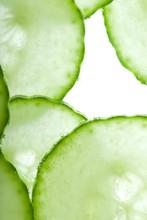 Thin Cucumber Slices
