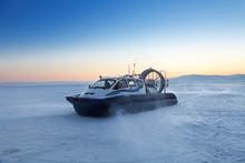 Hovercraft On The Baikal