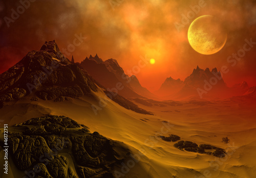 Plakaty Fantasy fantasy-alien-planet