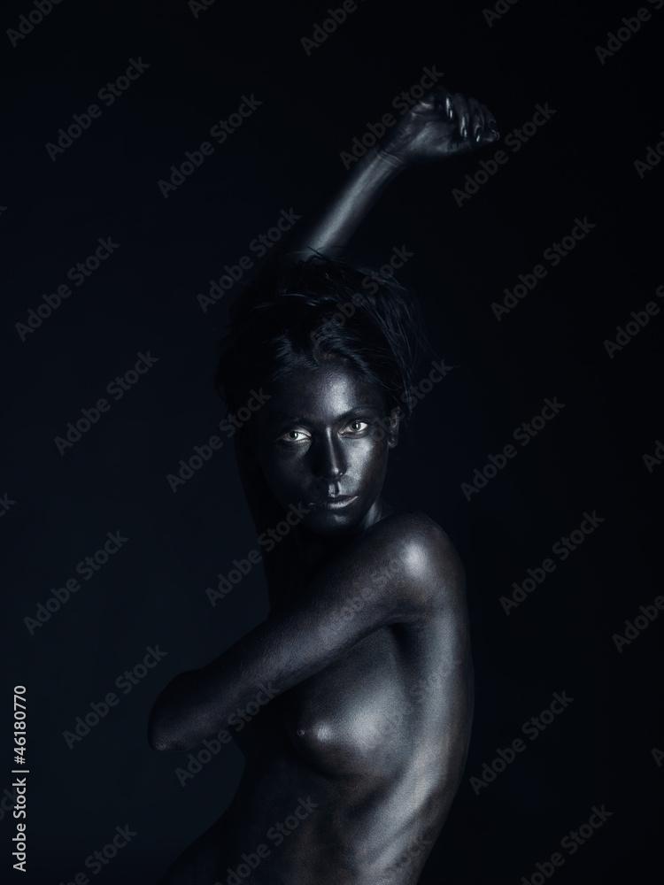 Mujer desnuda pintada Nude Photos 69