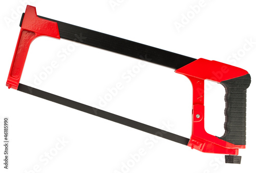 Valokuva  Hacksaw with red handle