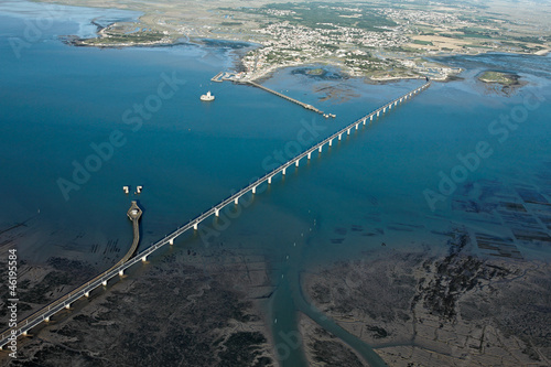 Pont De L Ile D Oleron Vue Du Ciel Buy This Stock Photo