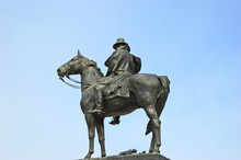Ulysses S Grant Memorial At The Foot Of Capitol Hill And First S
